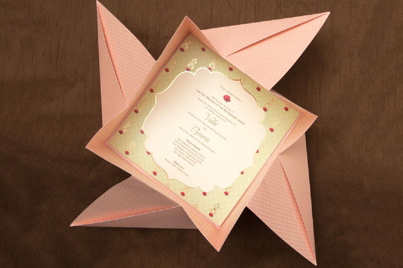 Creative Indian Wedding Invitation Cards Customizing